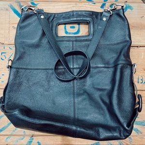 Alfani Large Leather Shoulder Bag